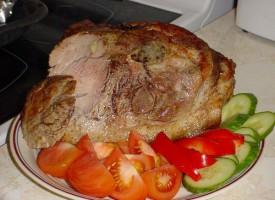 Вареная свинина