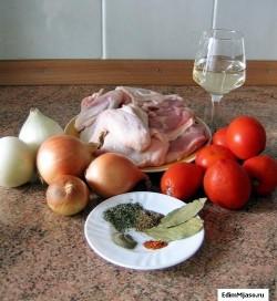 Как готовить чахохбили из курицы