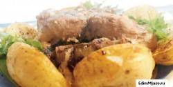 Запеченая свинина  250x126 Приготовление мяса свинины