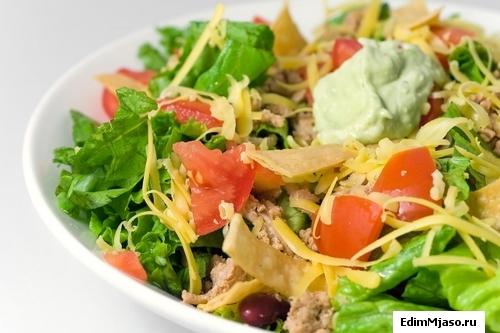 Пряный салат