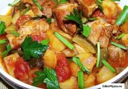 Как приготовить баранину с картофелем
