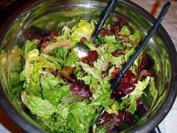 Как приготовить салат с телятиной.