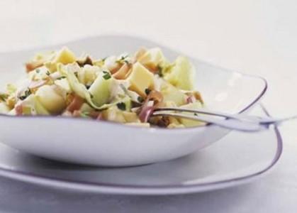Приготовление датского салата