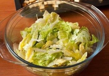 Как приготовить французский салат