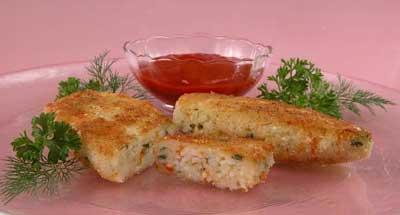Рулет из мяса и риса