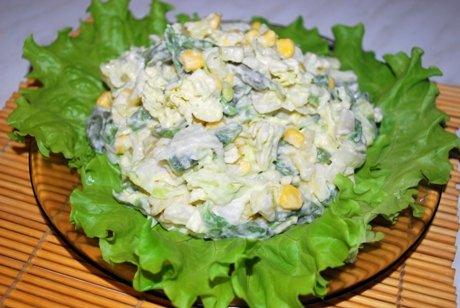 Samyj vkusnyj salat s mjasom