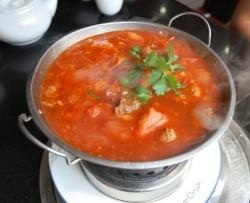 Суп с бараниной и рисом